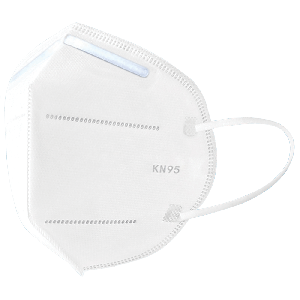 Lightweight, Disposable White Filtration Face Mask - NW-KN95