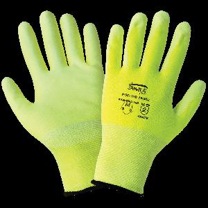 Samurai Glove® High-Visiblity PU Coated Cut Resistant Gloves - PUG-118