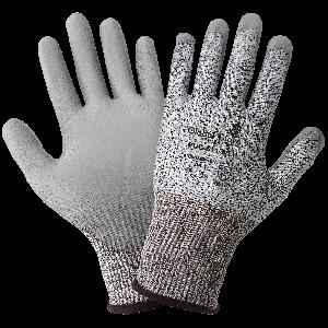 PUG™ Salt-and-Pepper Polyurethane Coated Cut Resistant Gloves - PUG-611
