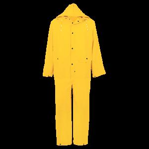 Three-Piece PVC Rain Suit with Snaps - R8900