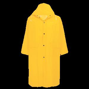 49-Inch Long PVC Rain Coat - RCB89