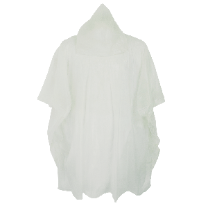 Clear Poncho with Hood - RCP810