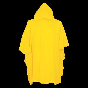 Yellow Rain Poncho with Hood - RYP810