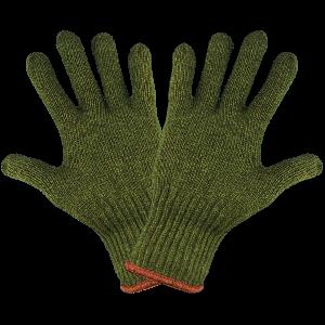 Army Green Rag Wool Gloves - S77RW