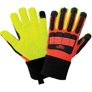 Vise Gripster® High-Visibility Impact Resistant Gloves - SG9954