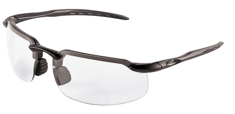 Swordfish® Variable Tint Anti-Fog Lens, Matte Black Frame Safety Glasses - BH10613AF