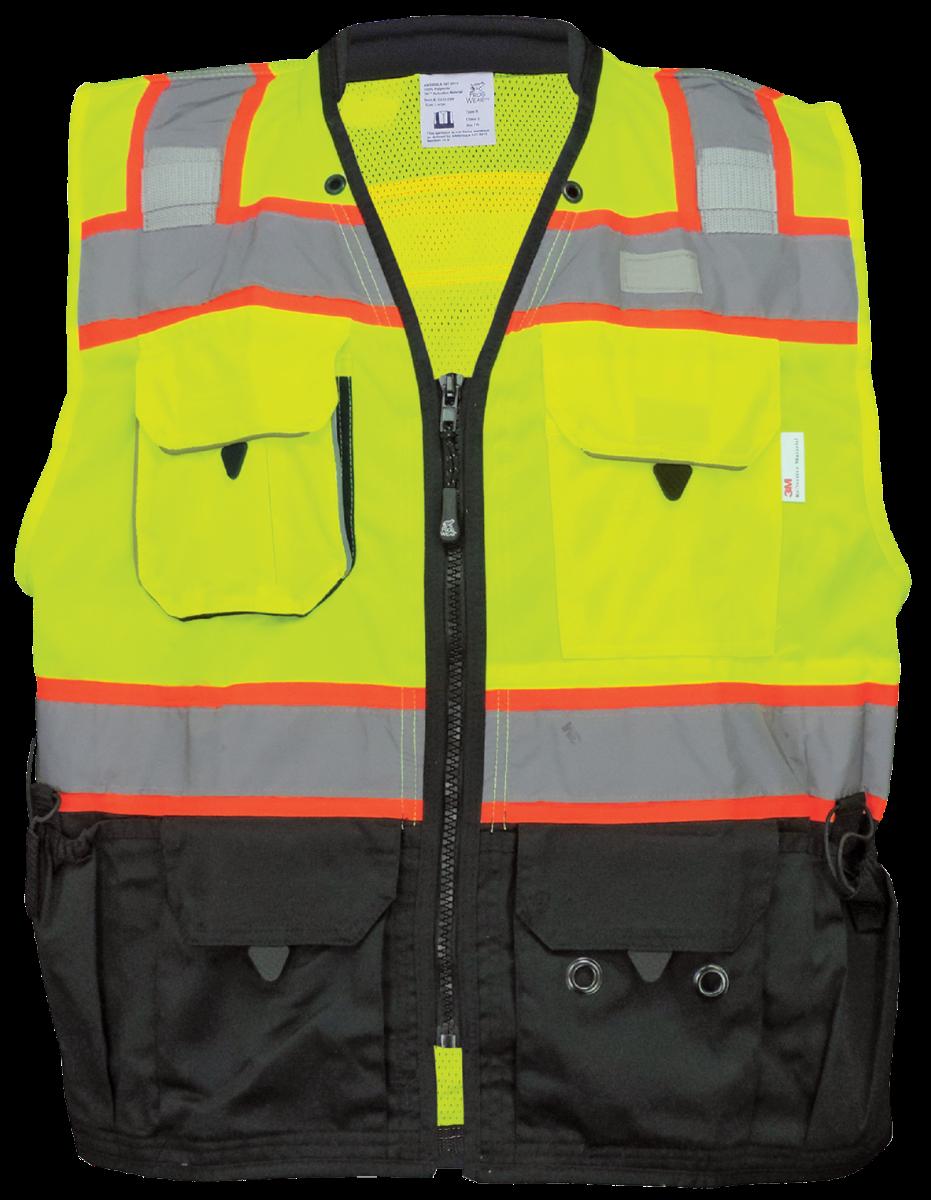 GLO-099 - FrogWear HV - Premium High-Visibility Surveyors Safety Vest