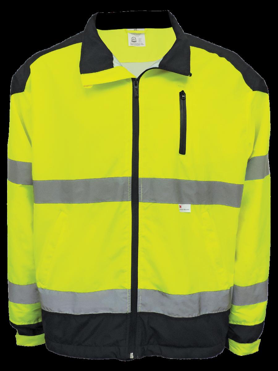 GLO-WB1 - FrogWear HV - Premium Windbreaker Jacket