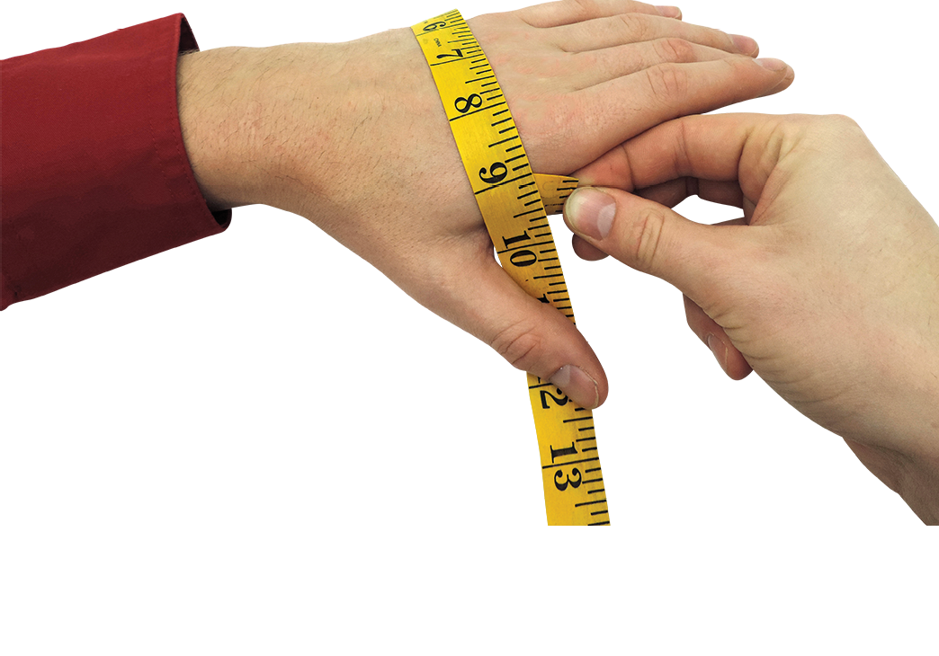 Glove Measuring Guide