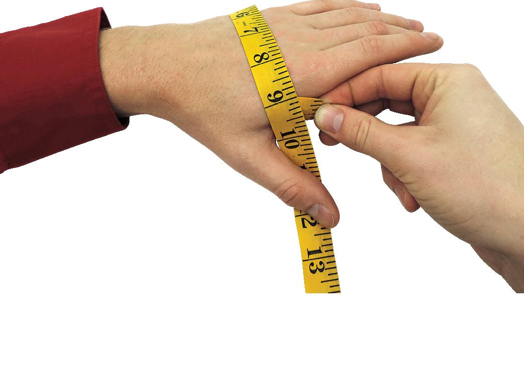 Glove Measuring Guide
