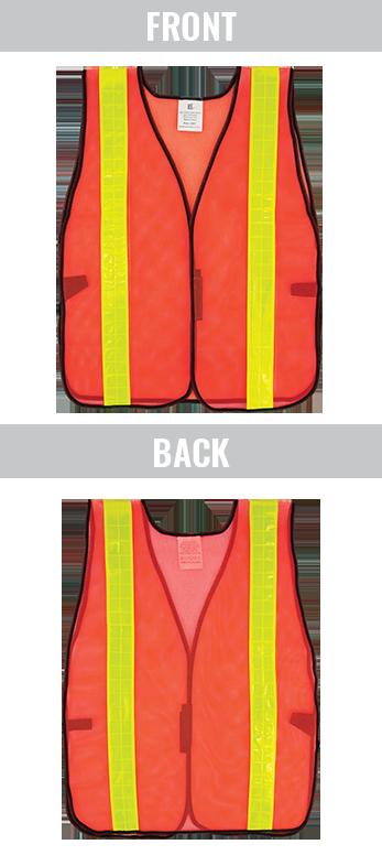 GLO-10-2IN - FrogWear® HV- Economy High-Visibility Mesh Safety Vest