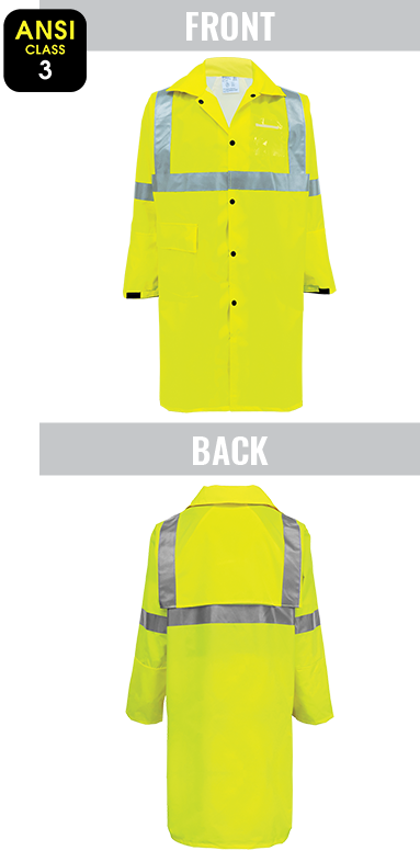 GLO-1450 - FrogWear® HV - High-Visibility Yellow/Green Duster Jacket