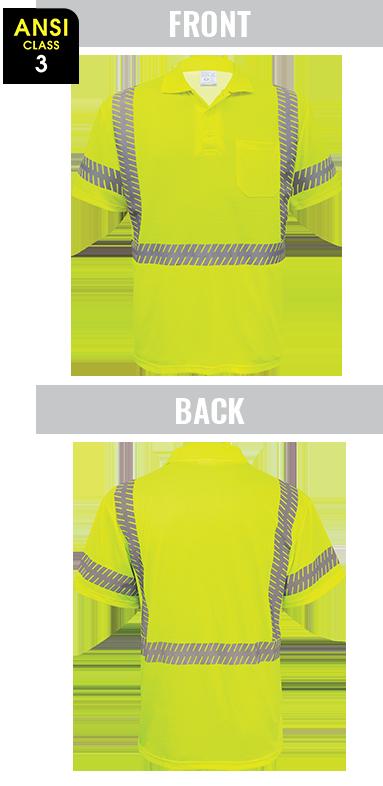 GLO-209 - FrogWear® HV - Premium High-Visibility Polo Shirt