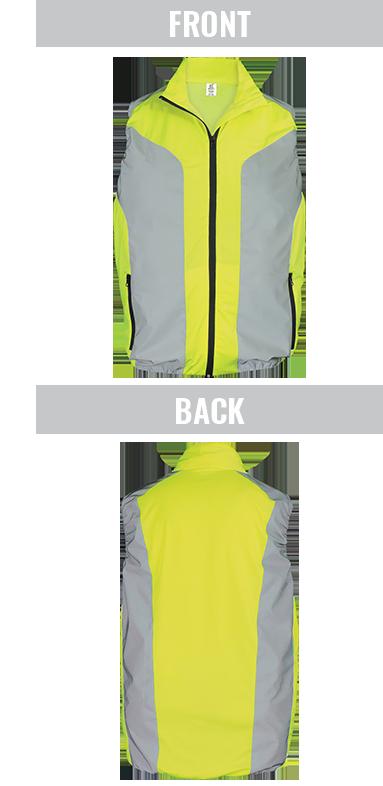 GLO-SV1 - FrogWear® HV - High-Visibility Premium Sportswear Vest