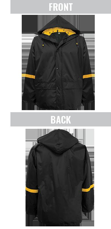 R6400 - FrogWear® - 3-Piece Premium Nylon Rain Suit