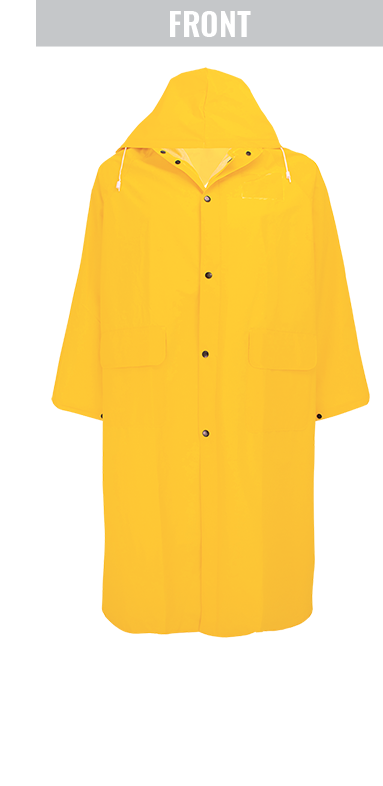 RCB89 - 49 Inch Long PVC Raincoat