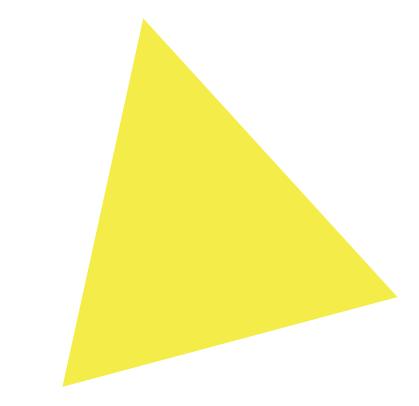 Triangle testing area