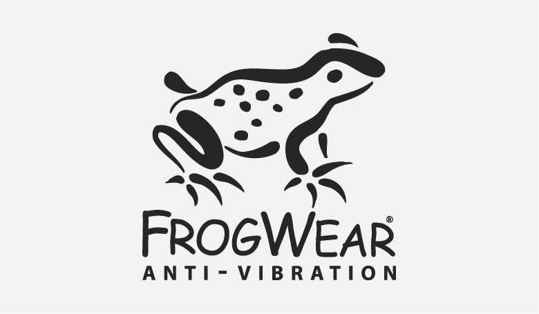FrogWear Anti-Vibration Logo