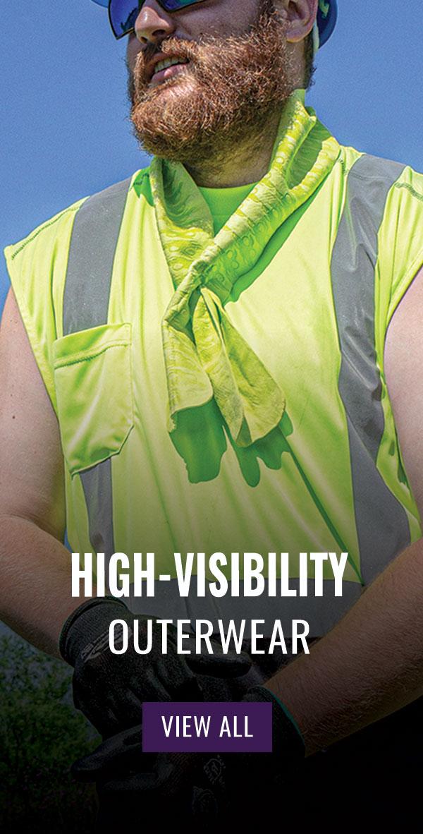FrogWear® HV Eight-in-One Winter Bomber Jacket - GLO-B2