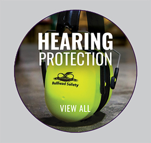 Bullhead Safety® Hearing Protection Premium High-Visibility Foldable Earmuffs - HP-M2