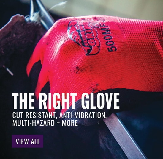 Tsunami Grip MF Double-Dipped Mach Finish Nitrile Coated Gloves - 500MF