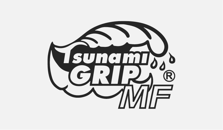 Tsunami Grip Mach Finish Logo